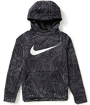 Nike Big Boys 8-20 Printed Therma-FIT Fleece Hoodie