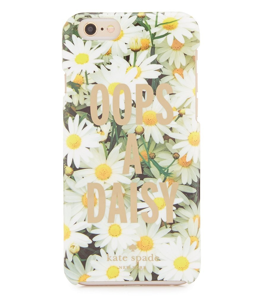 kate spade new york Oops A Daisy iPhone 6 Case