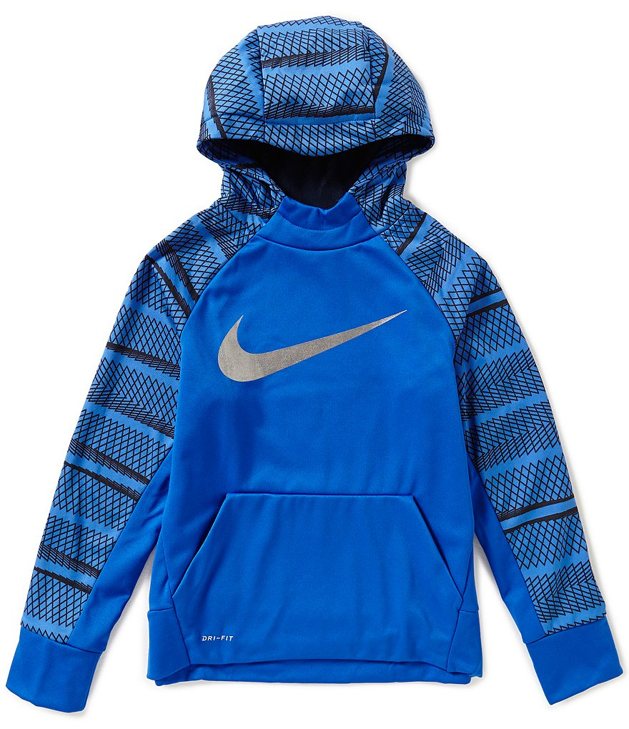 Nike Big Boys 8-20 Therma-FIT Color Blocked Hoodie