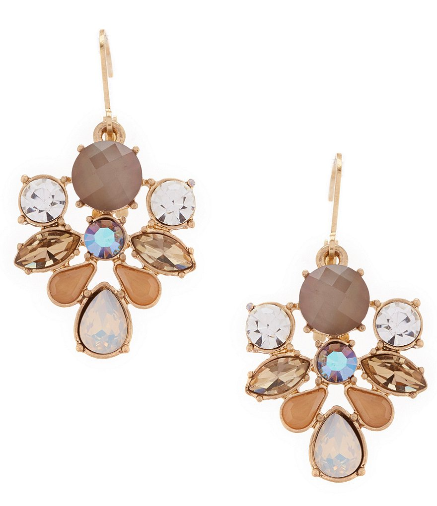 Belle Badgley Mischka Stone Drop Earrings