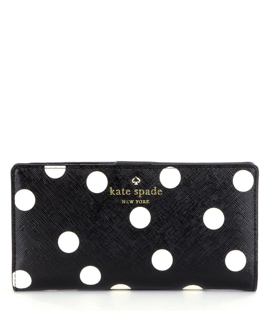 kate spade new york Cedar Street Stacy Dotted Continental Wallet