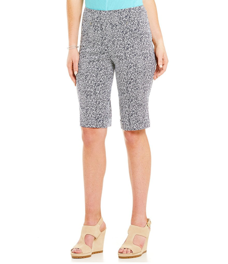 Westbound Petites the PARK AVE fit Bermuda Short