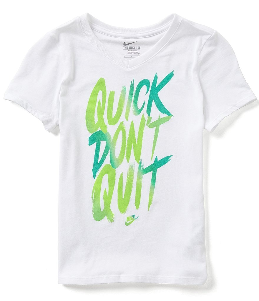 Nike Big Girls 7-16 Quick Don´t Quit Short-Sleeve Tee
