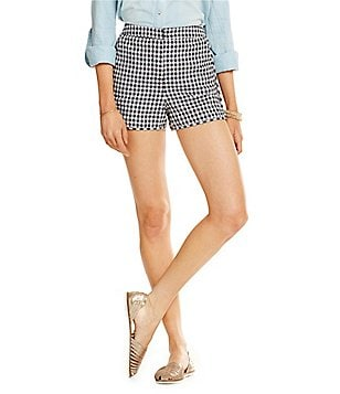Copper Key Gingham Shorts