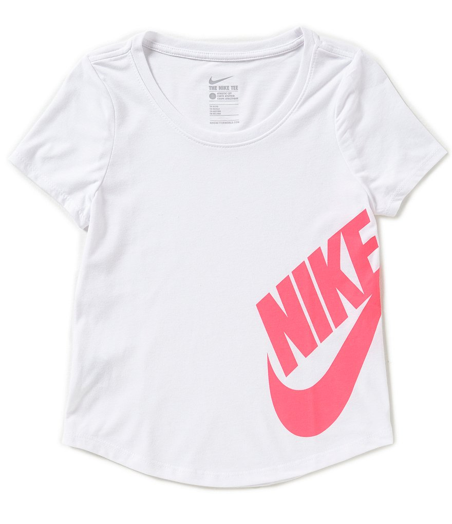 Nike Big Girls 7-16 Triblend Scoop Futura Tee