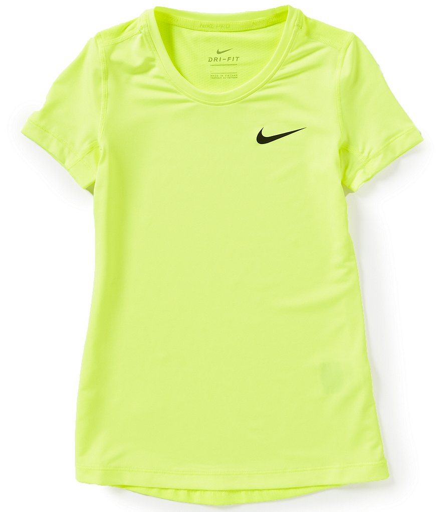Nike Big Girls 7-16 Dri-FIT Short-Sleeve Active Top