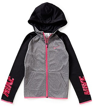 Nike Big Girls 7-16 Therma Fleece Hoodie