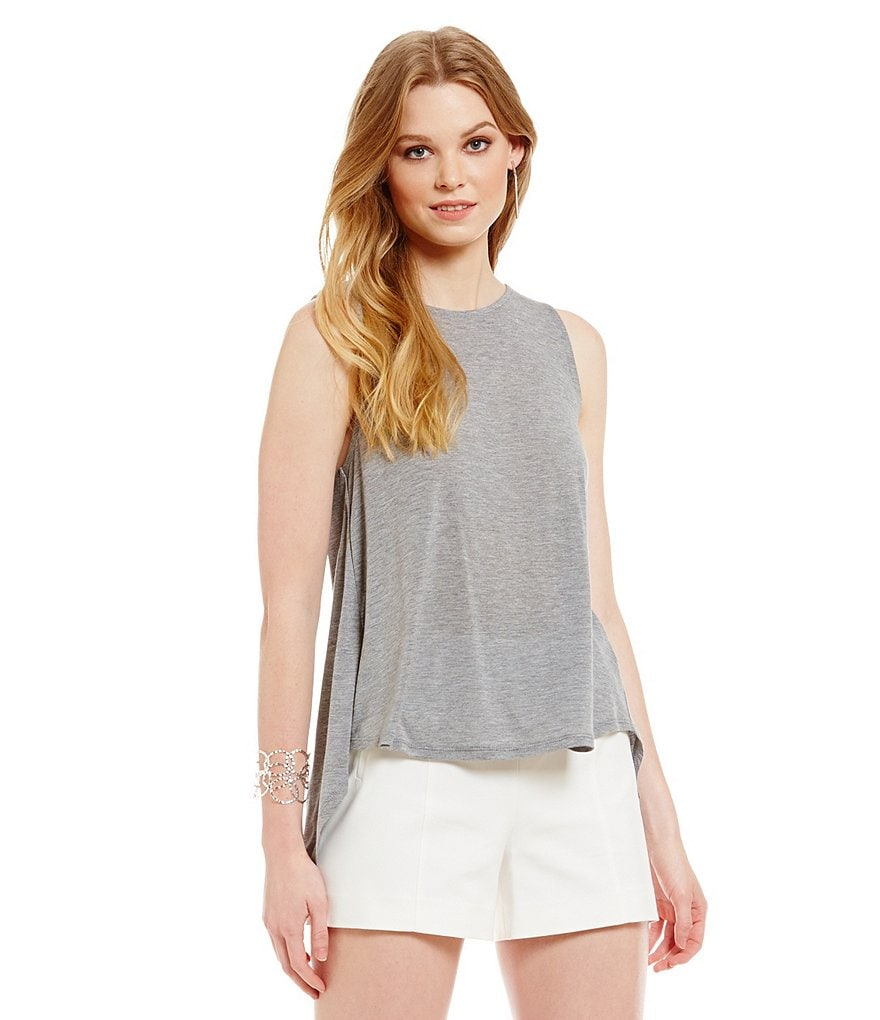 1. STATE Open Back Sleeveless Top