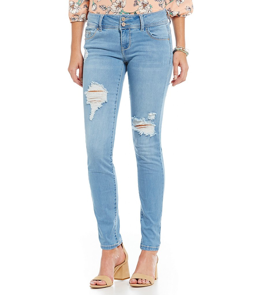 Copper Key Distressed Skinny Jeans