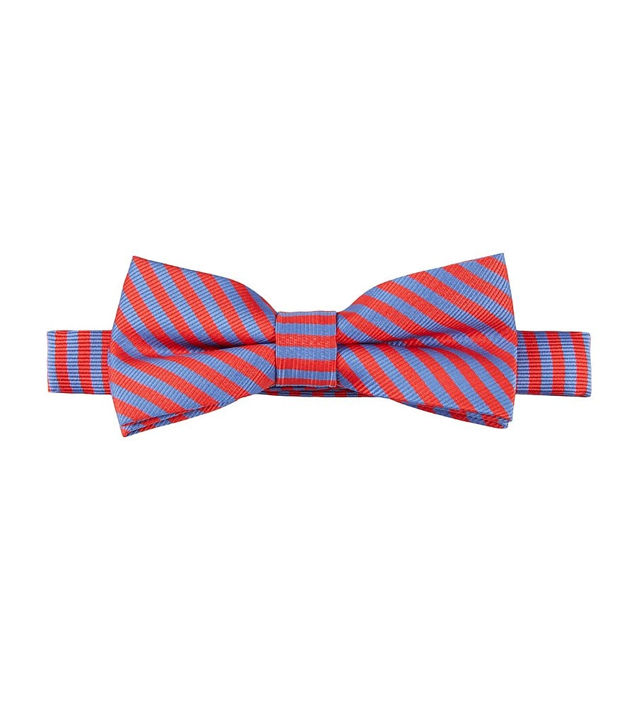 Class Club Thin Stripe Bow Tie