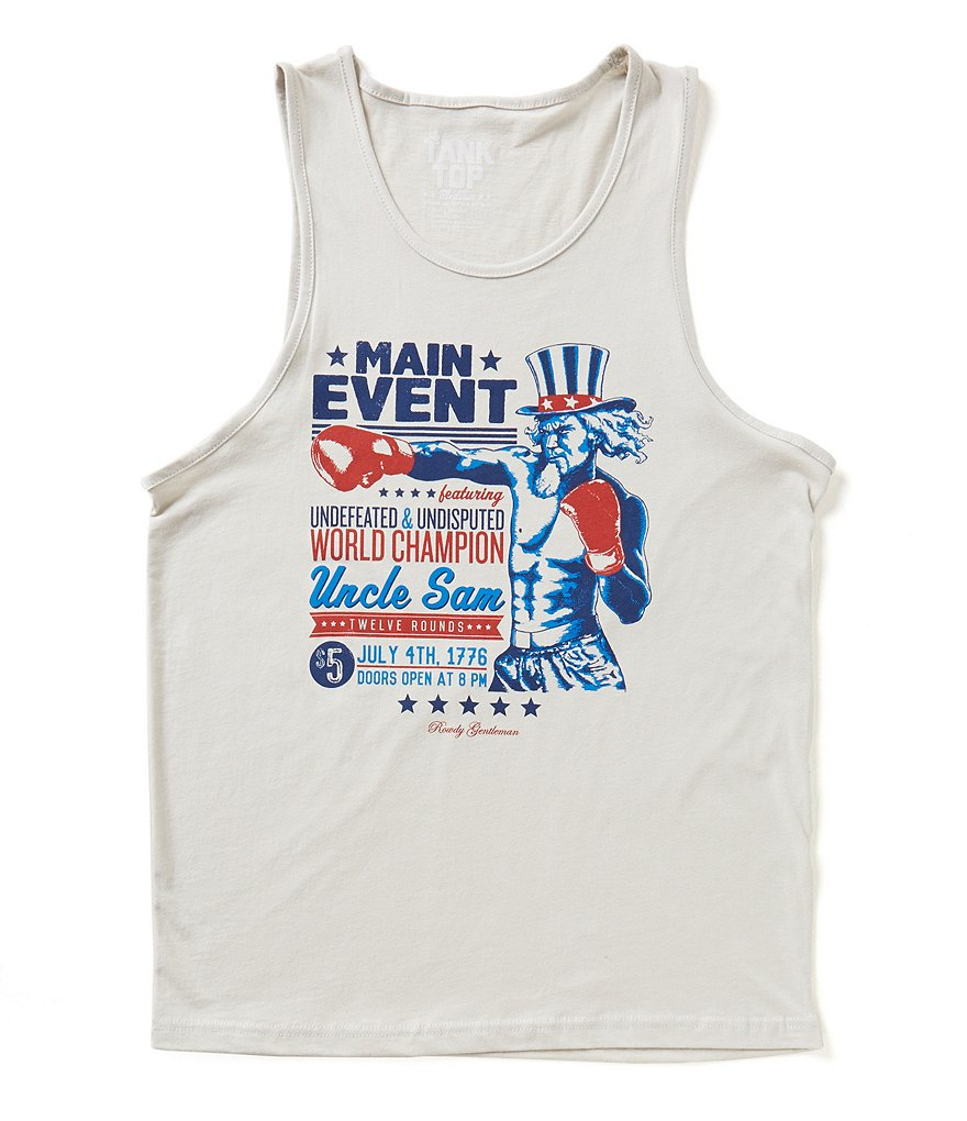 Rowdy Gentleman Main Event Uncle Sam Tank Top