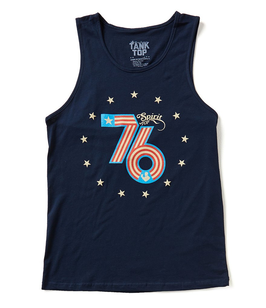 Rowdy Gentleman Spirit of 76 Americana Tank Top