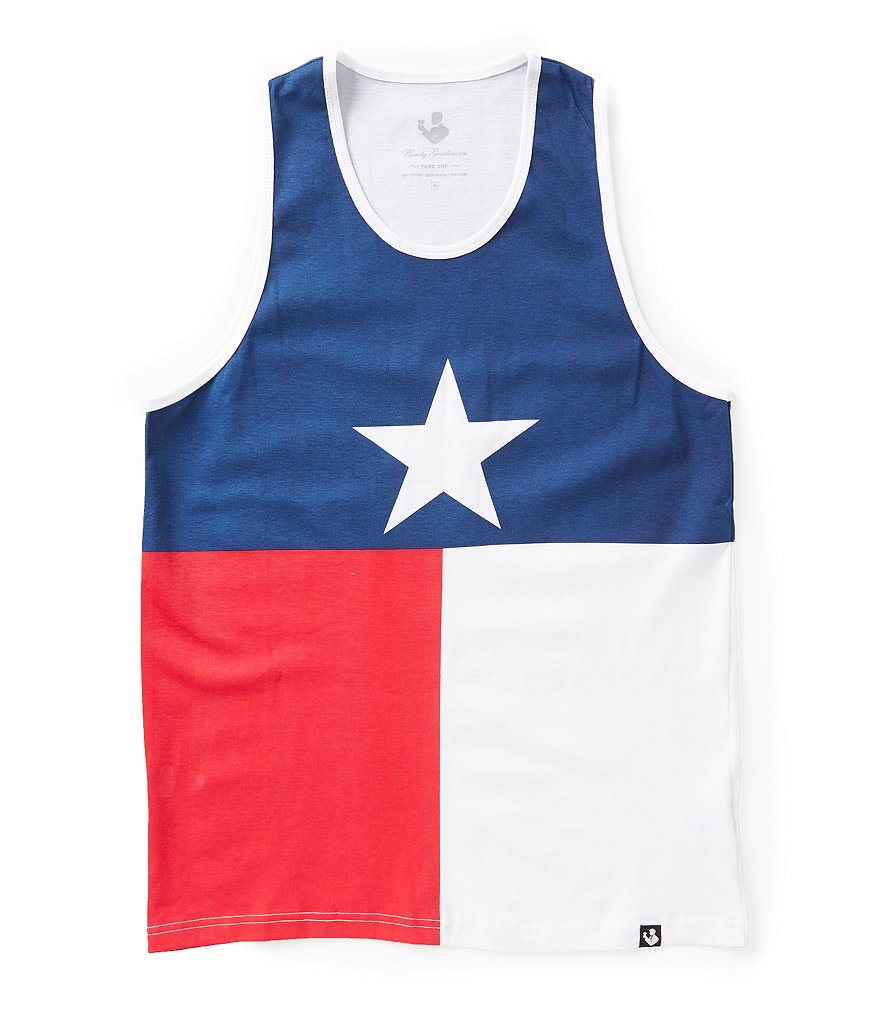 Rowdy Gentleman Texas Flag Tank