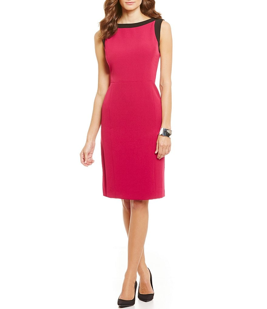 Kasper Stretch Crepe Dress