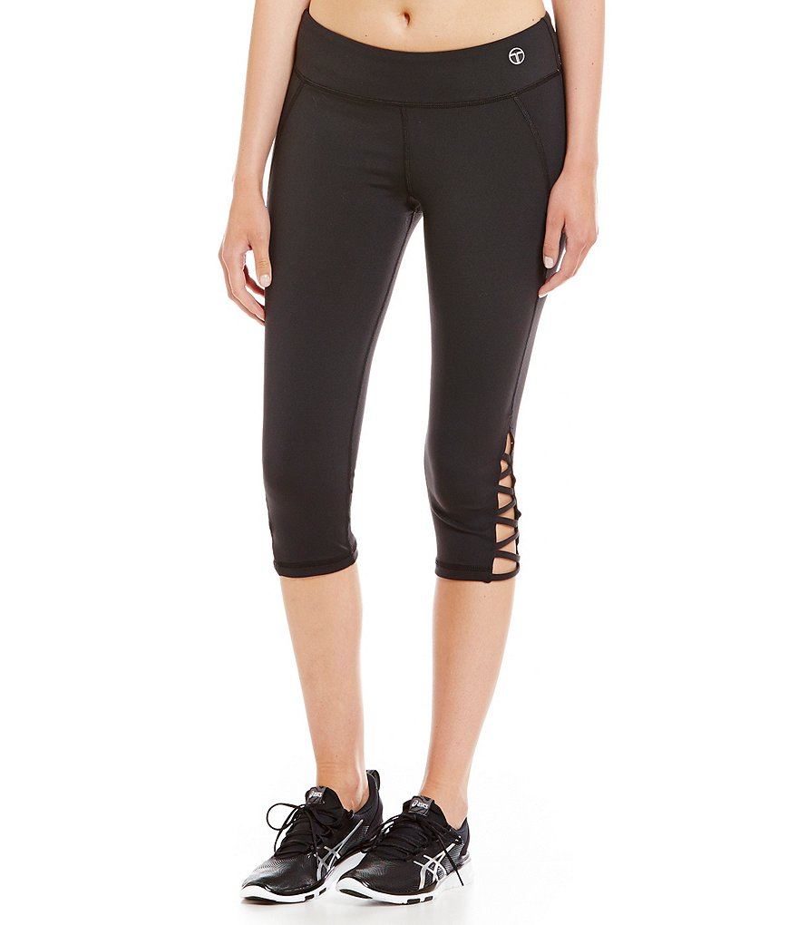 Trina Turk Recreation Zig Zag Strapped Leggings