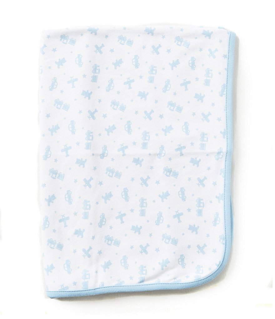Little Me Toy Time Reversible Receiving Blanket