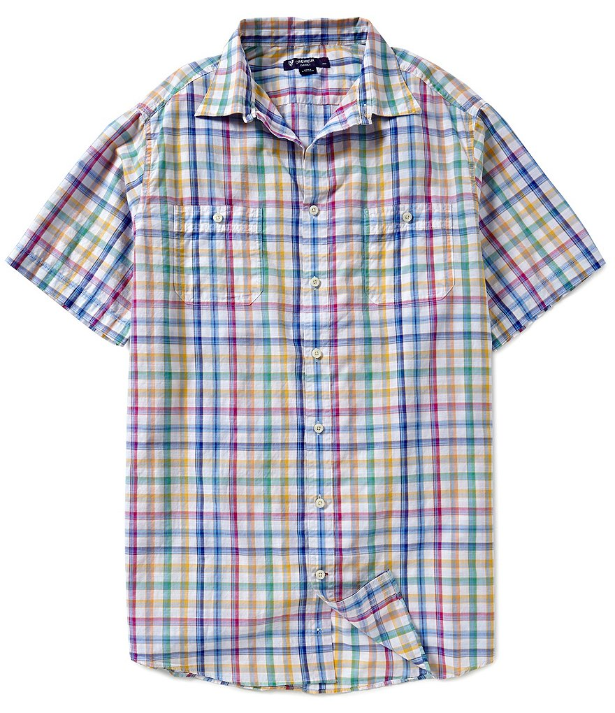 Cremieux Big & Tall Poplin Button-Down Shirt