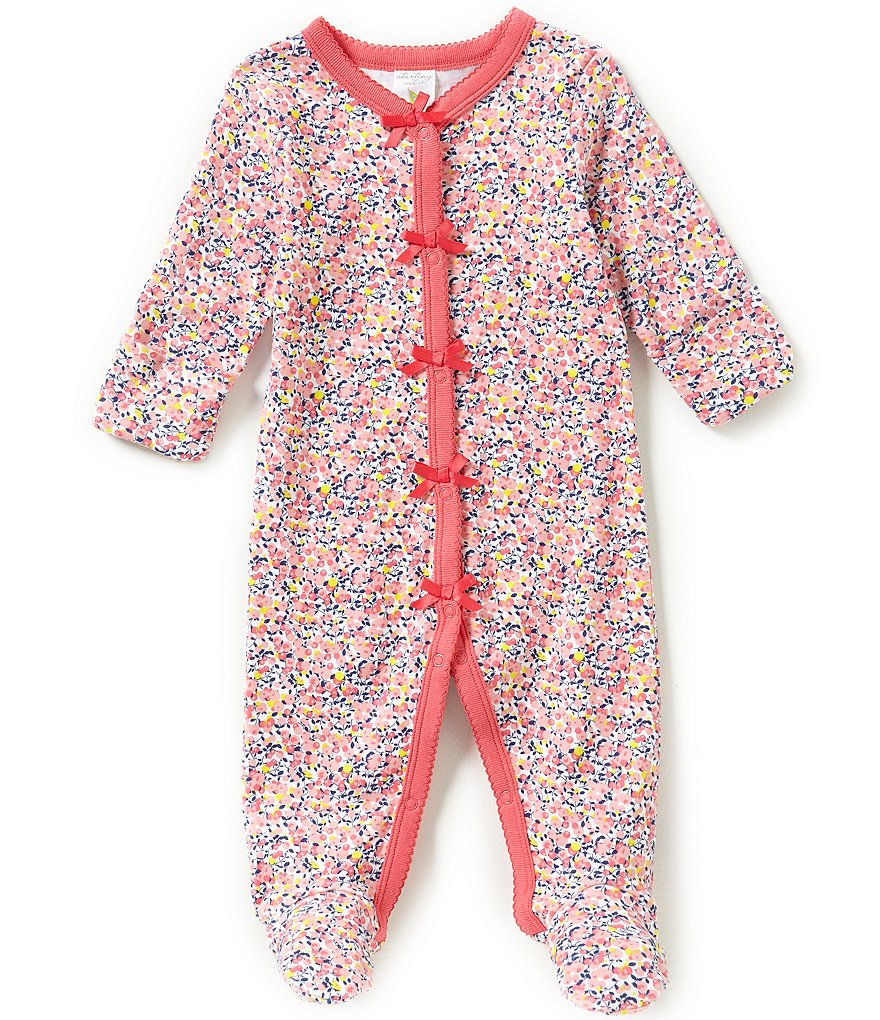 Starting Out Baby Girls Newborn-6 Months Floral Coverall