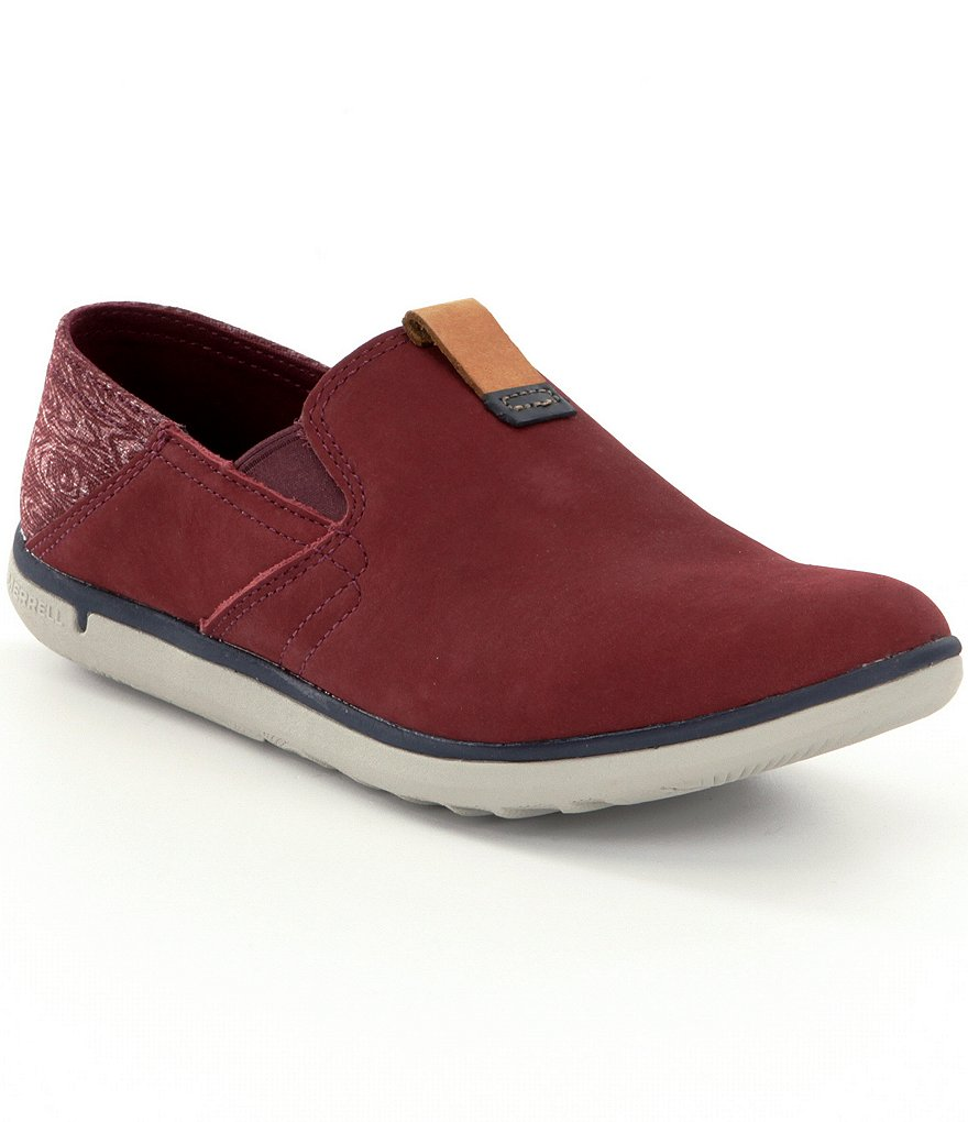 Merrell Duskair Moc Smooth Slip Ons