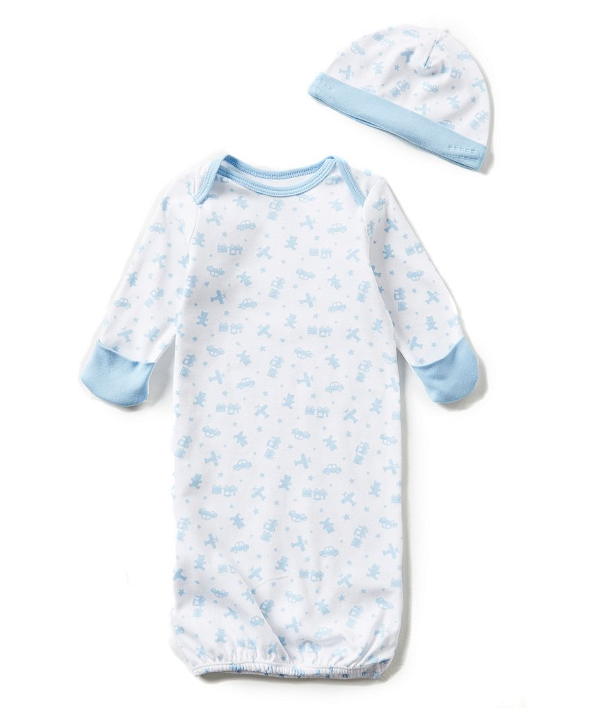 Little Me Baby Boys Newborn Toy Time Gown