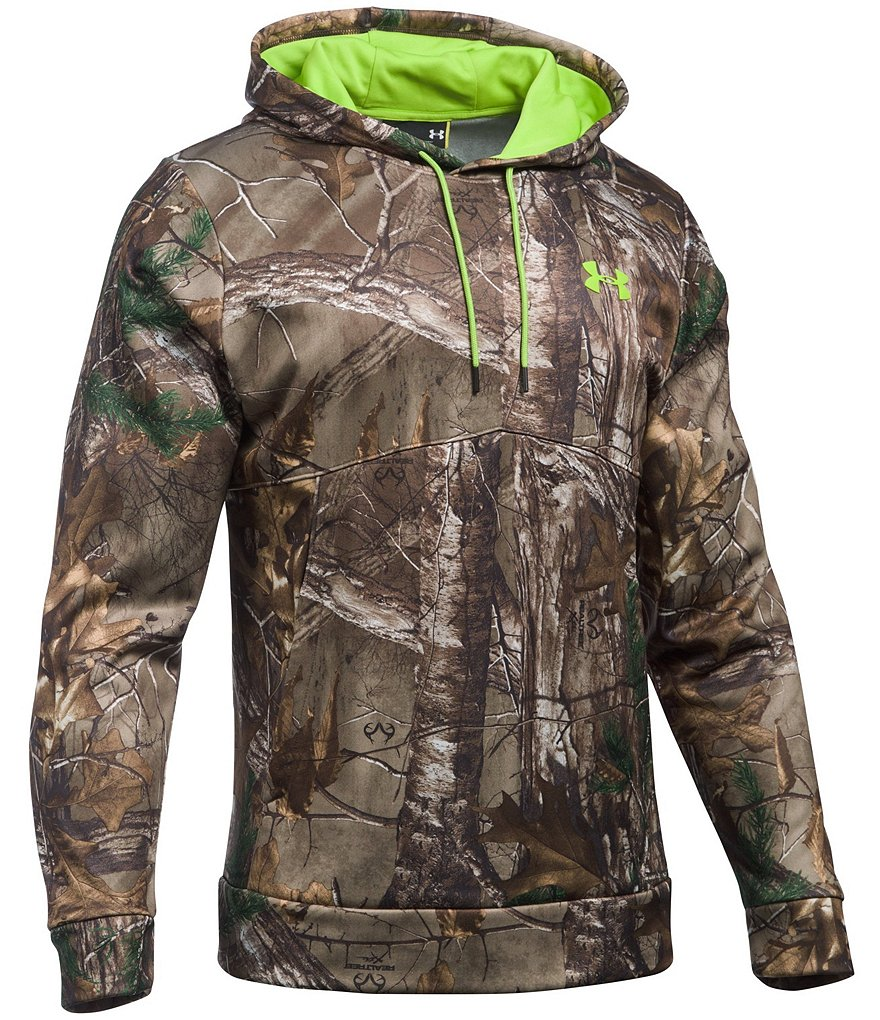 Under Armour Hunt Scent Control Franchise Camo Hoodie