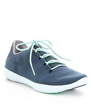 Under Armour Women´s Street Precision Low Subtly Perforated Lace-Up Sneakers