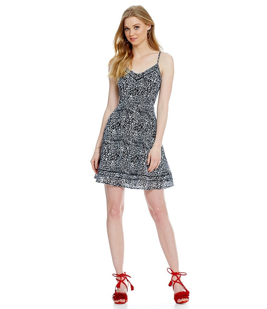devlin Fit-and-Flare Lori Dress