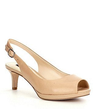 Alex Marie Melanie Peep-Toe Pumps