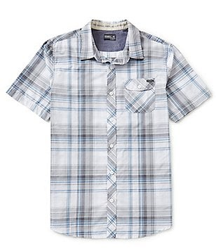 O´Neill Emporium Short-Sleeve Plaid Shirt