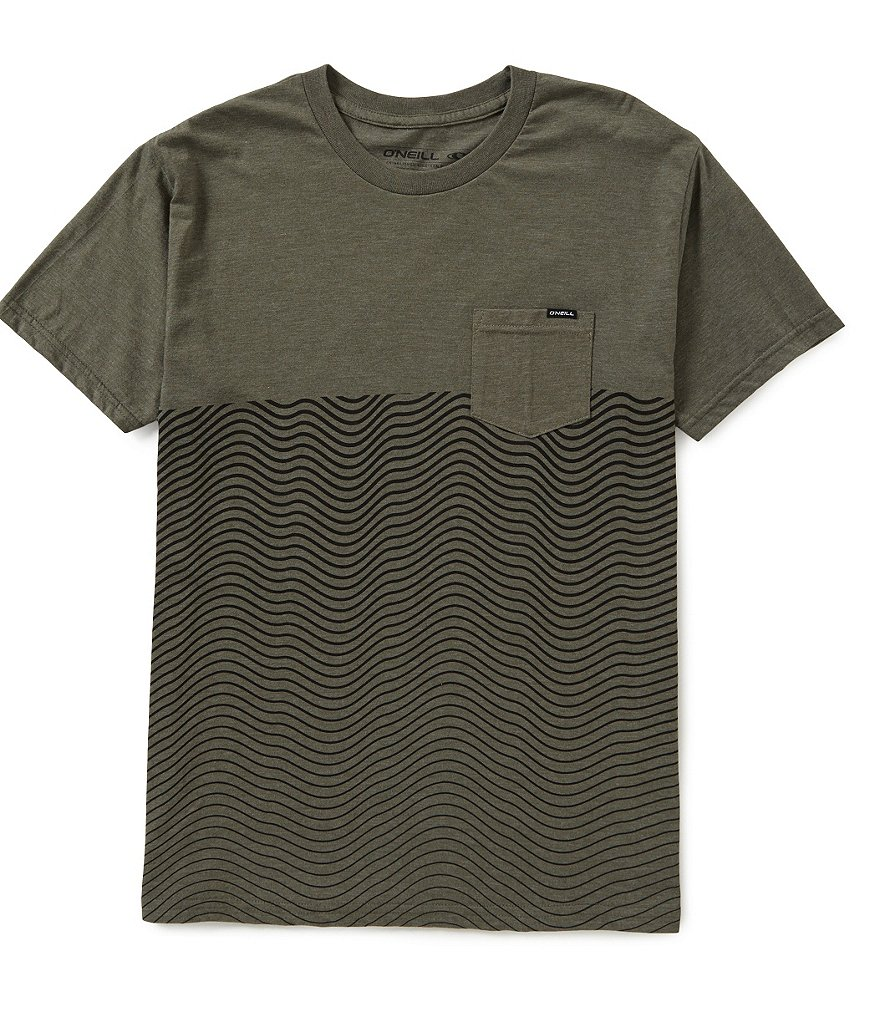 O´Neill Upwelling Crewneck Color Block Tee