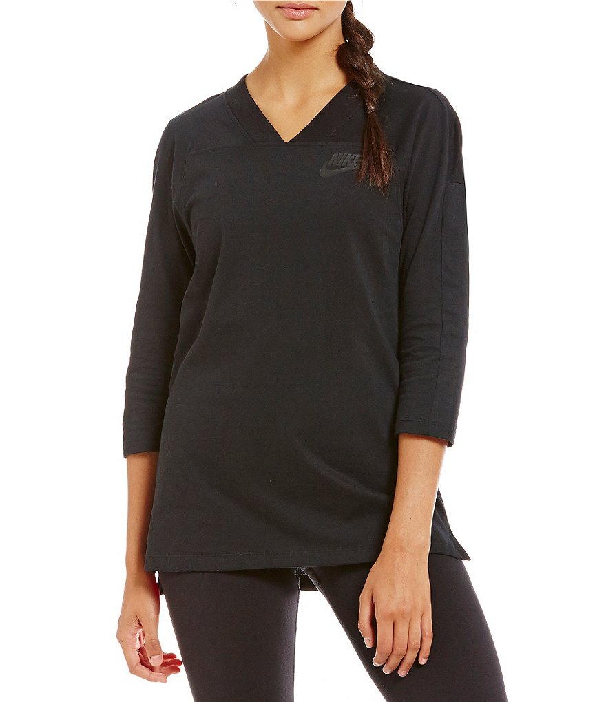 Nike Signal 3/4 Sleeve Jersey Top