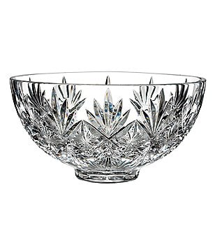 Waterford Normandy Starburst Wedge-Cut Crystal Bowl