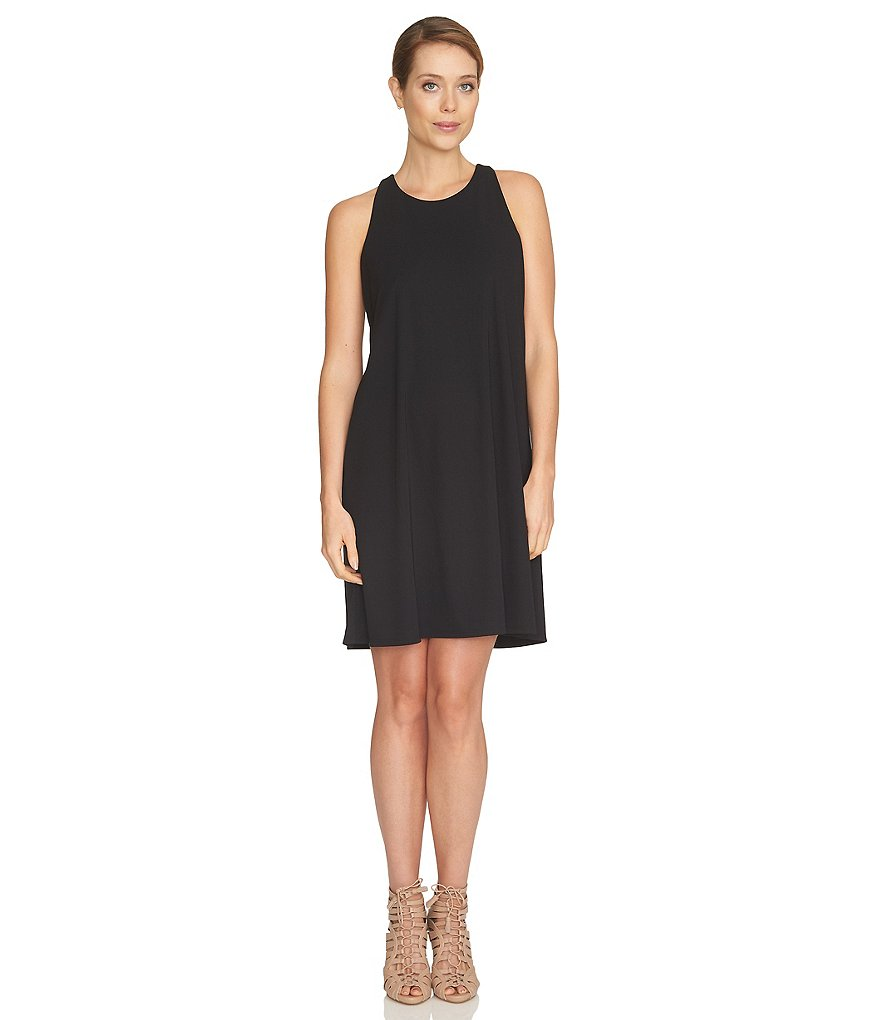 CeCe Jersey Knit Halter Dress