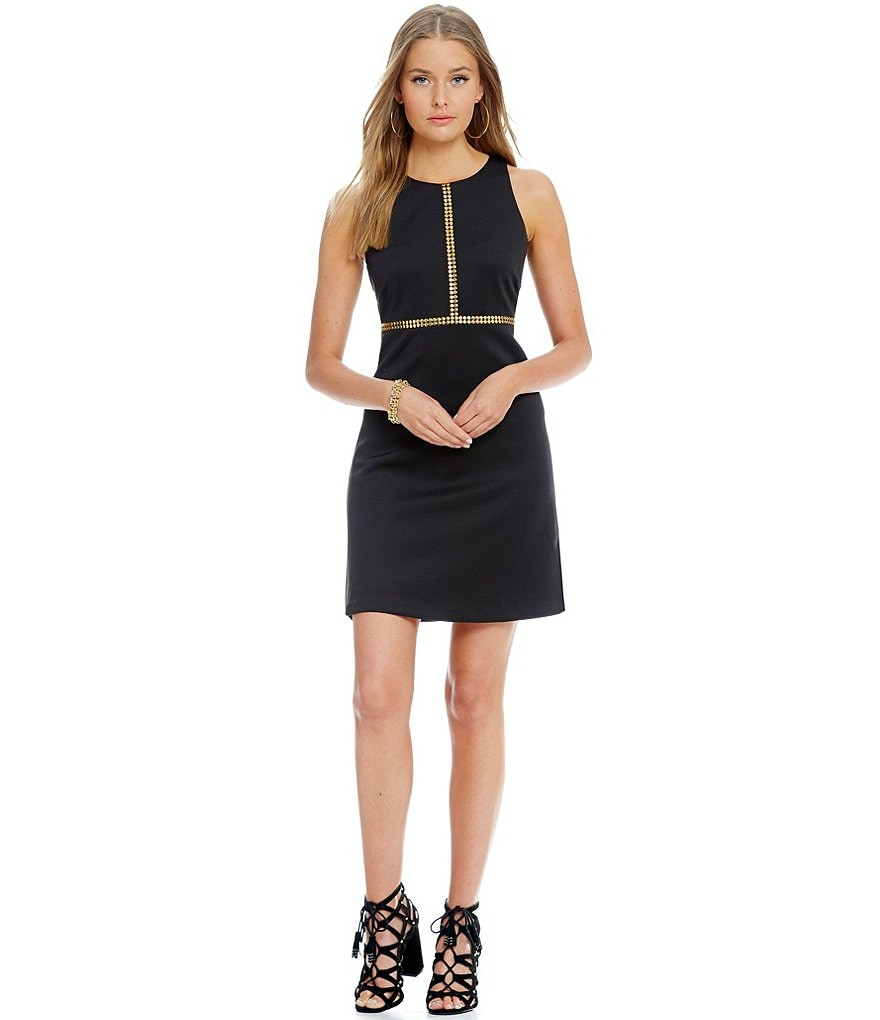 Jessica Simpson T-Studded Fit and Flare Dress
