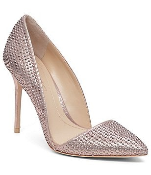 Imagine Vince Camuto Ossie Tonal Stone Detail High Heel Pumps
