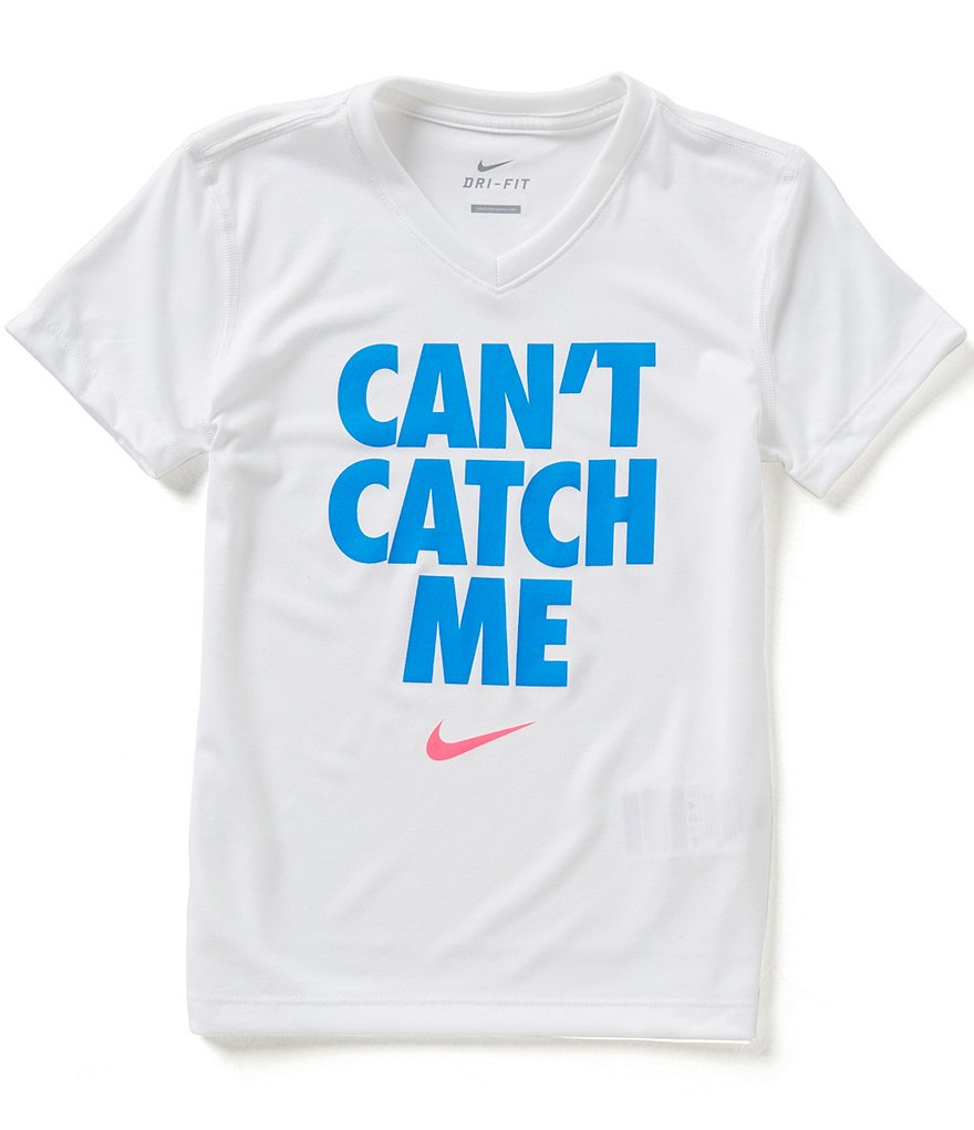 Nike Big Girls 7-16 Can´t Catch Me Tee