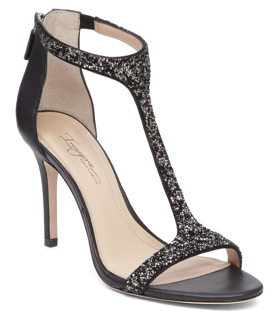 Imagine Vince Camuto Phoebe Dress T-Strap Sandals
