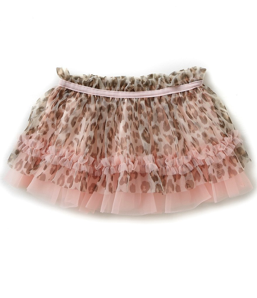 Baby Starters Baby Girls 3-12 Months Leopard-Printed Tutu Skirt