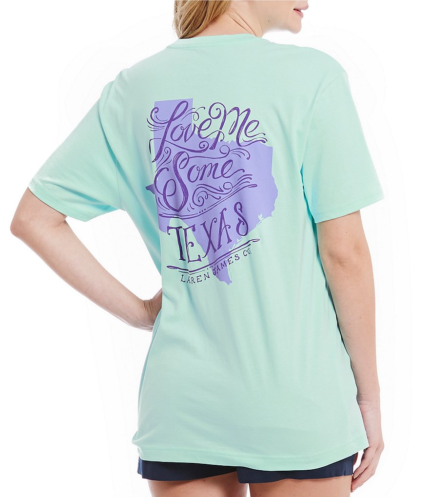 Lauren James Love Me Some Texas Graphic Tee