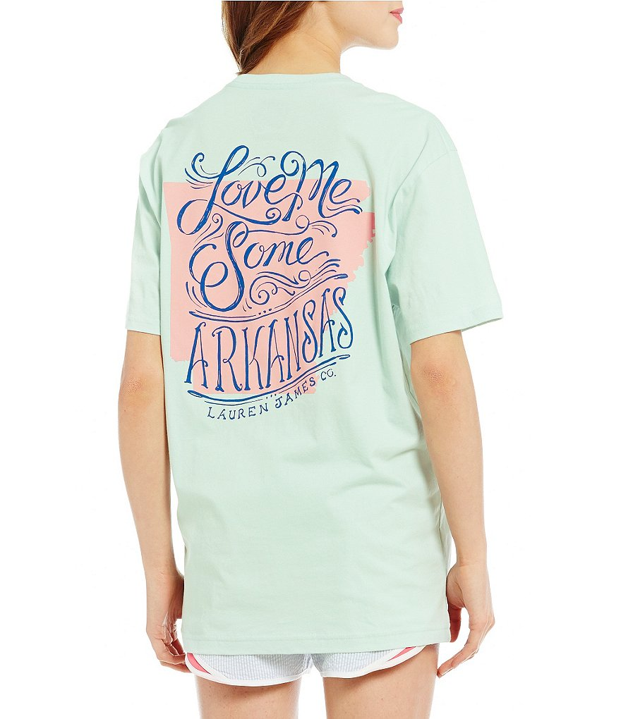 Lauren James Love Me Some Arkansas Graphic Tee