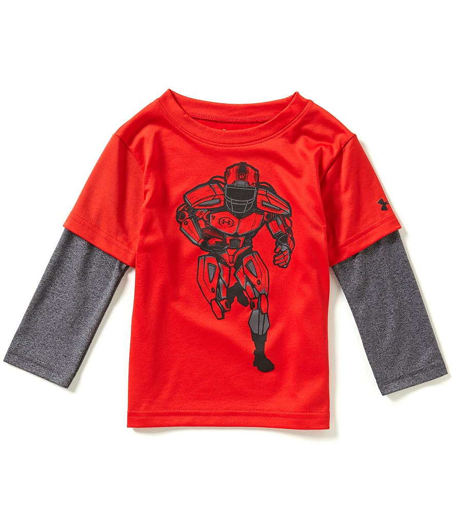 Under Armour Baby Boys 12-24 Months Football Player Slider Tee