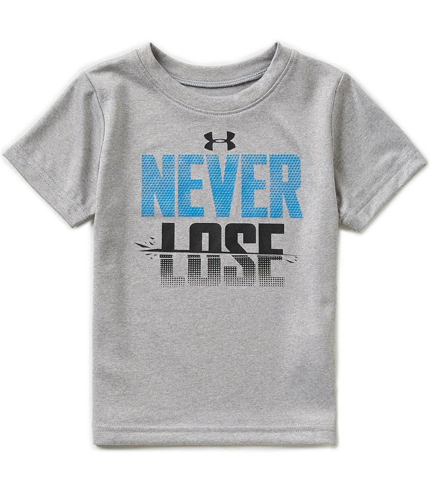 Under Armour Baby Boys 12-24 Months Never Lose Short-Sleeve Tee