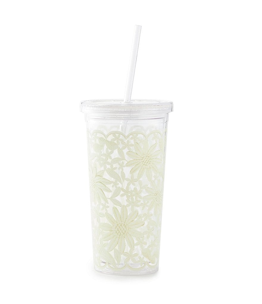 kate spade new york Daisy Lace Insulated Tumbler
