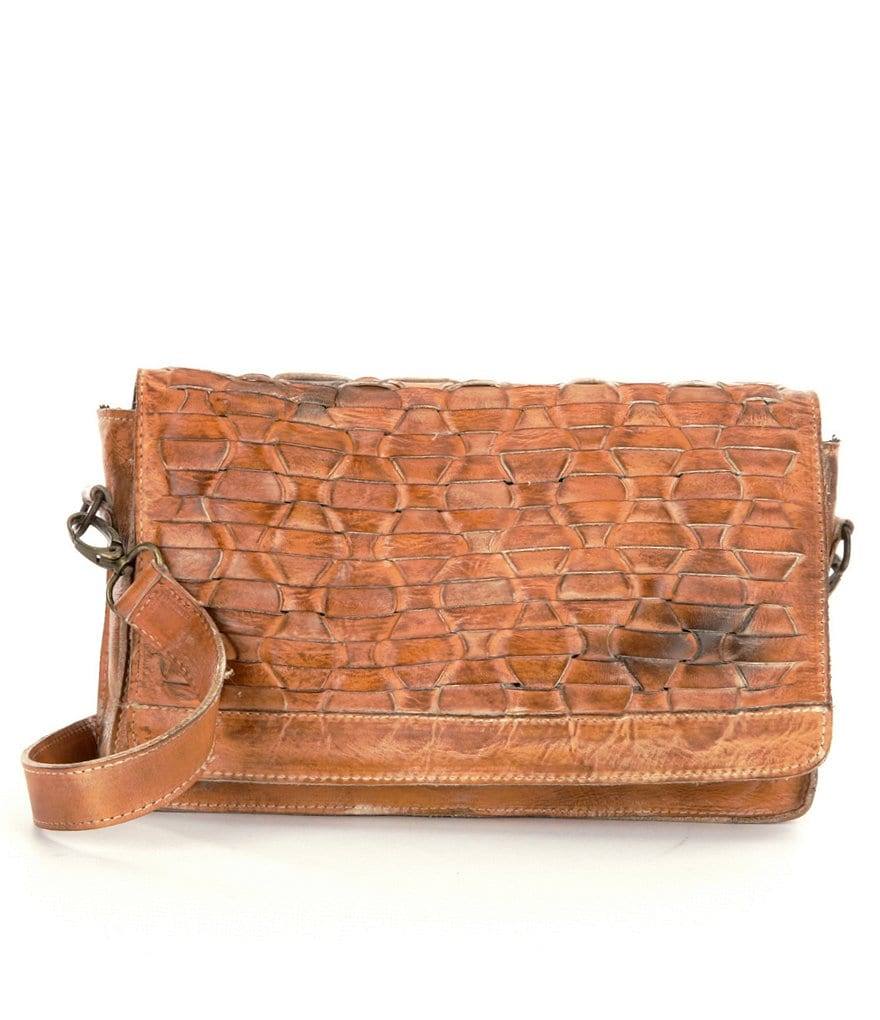 Bed Stu Aruba Woven Front Cross-Body Bag