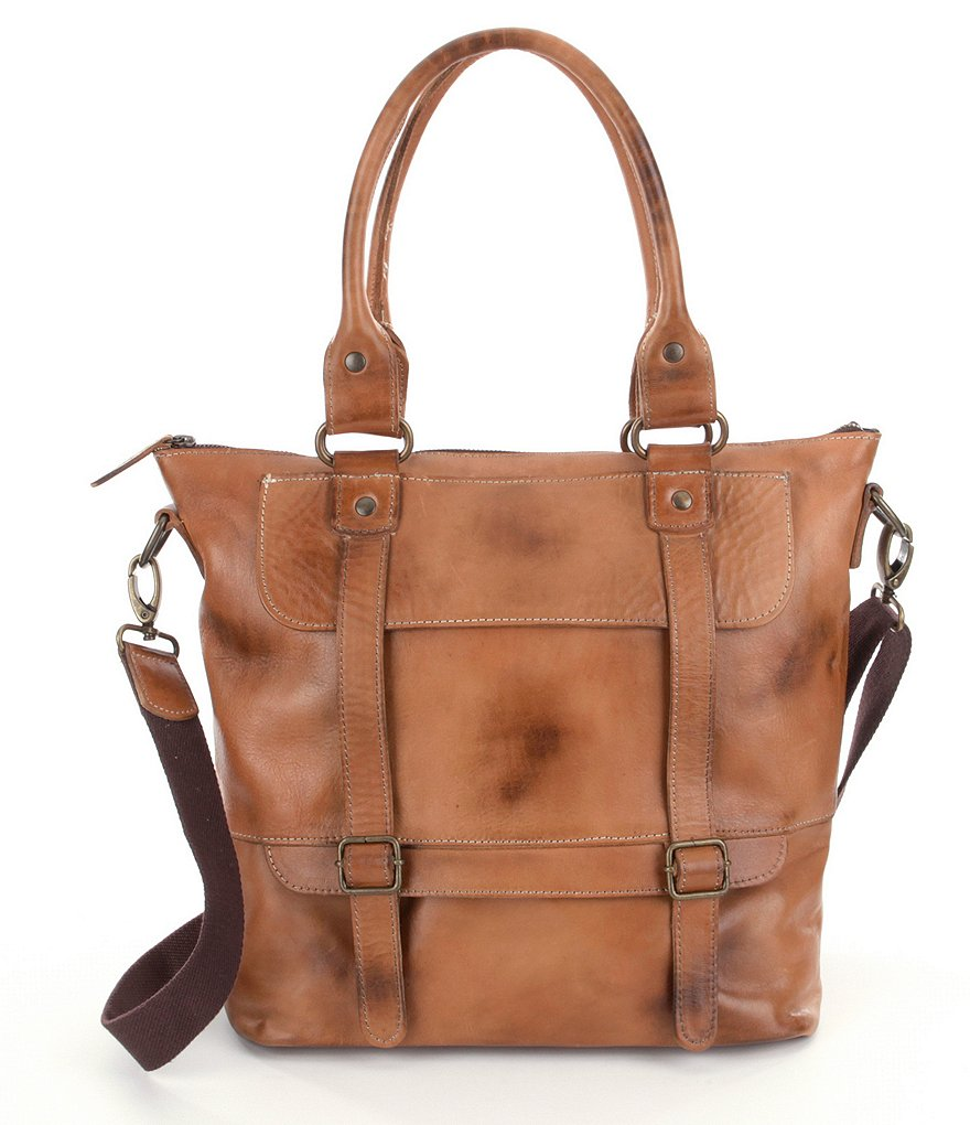 Bed Stu Big Fork Leather Tote