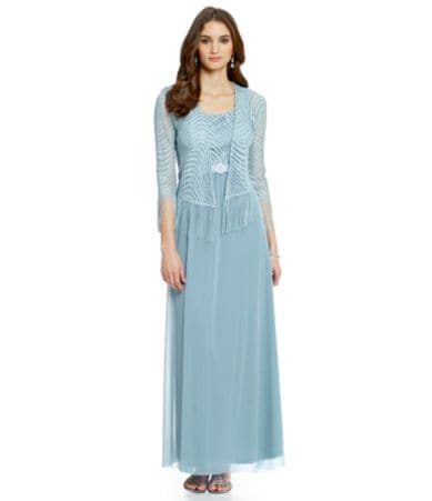 r m richards maxi dress dillards