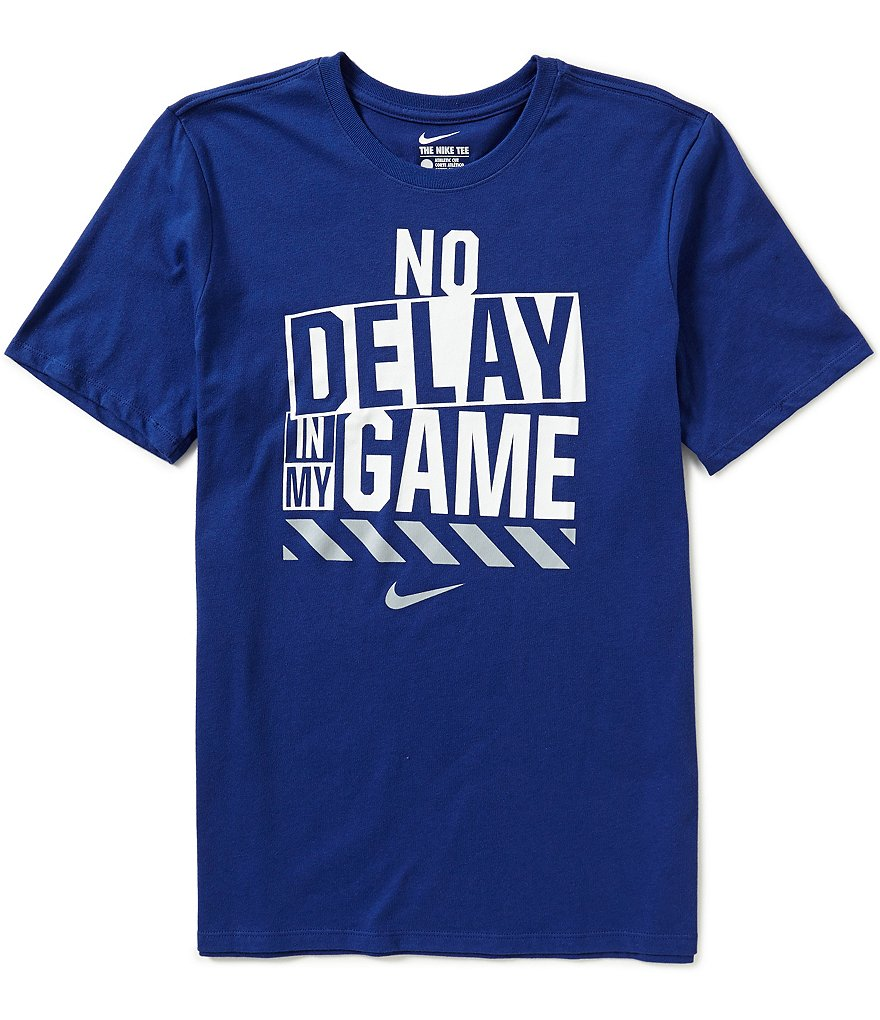 Nike No Delay Dri-FIT Training Graphic Tee