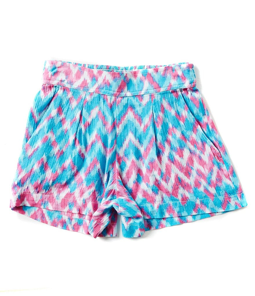 Jessica Simpson Big Girls 7-16 Nile Chevron Print Shorts