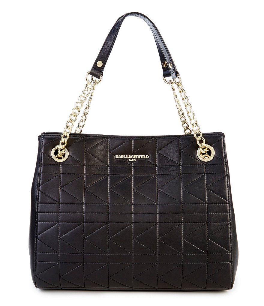 KARL LAGERFELD PARIS Quilted Tote