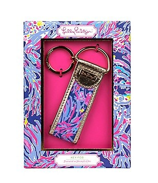 Lilly Pulitzer Shrimply Chic Key Fob